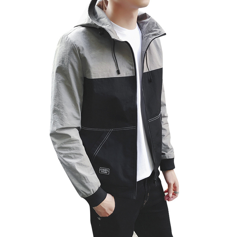 dropshipping2018 new stock Hoodie Men's Casual Handsome Jacket Fashion free shippingcospaly