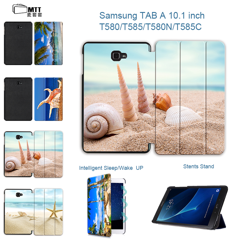 MTT Tablet Flip Stand Case For fundas Samsung Galaxy Tab A 10.1 2016 T580 T585 Cover For Coque Galaxy Tab A6 T580N T585C Case luxury flip pu leather case cover for samsung galaxy tab a 10 1 2016 t580 t585 t580n t585n tablet stand cover with card slots