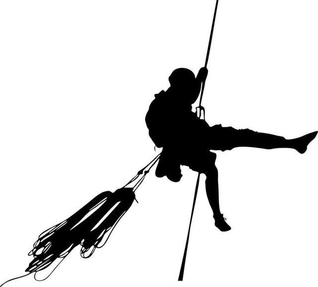 dctal rock climbing sticker climbers decal named posters vinyl wall