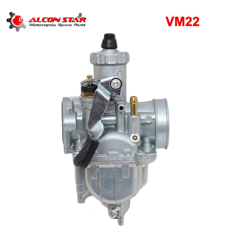 US $22 4 35% OFF|Alconstar VM22 22mm PZ26 Motorcycle Carburetor for Mikuni  110cc 125cc Pit Dirt Bike ATV Quad YX SSR CRF50 GY6 Carburedor Part-in