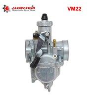 Alconstar VM22 22mm PZ26 Motorcycle Carburetor for Mikuni 110cc 125cc Pit Dirt Bike ATV Quad YX SSR CRF50 GY6 Carburedor Part