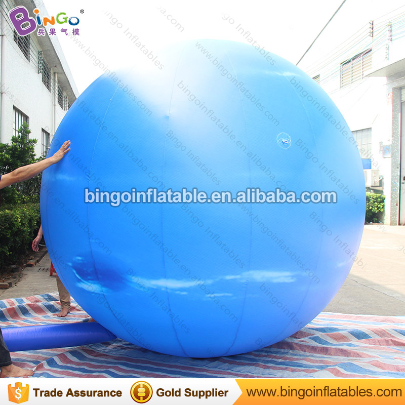 Diameter 3m inflatable neptune planet balloon / inflatable giant planet neptune / inflatable oxford neptune for decoration ao058h 2m helium balloon ball pvc helium balioon inflatable sphere sky balloon for sale