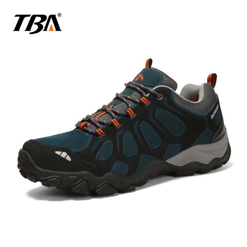 2017 TBA New Men's Hard wearing outdoor hiking shoes Sport Shoes Trekking Mountain Climbing Suede Boots For Men 2017 tba man hiking shoes outdoor sneaker climbing high leather mountain sport trekking tourism boots botas waterproof shoes