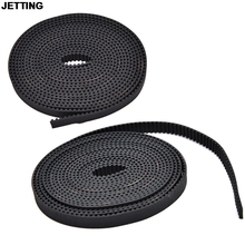 JETTING Open End RepRap GT2 Timing Belt 6mm Wide 2mm Pitch 2GT For Pulley 3D Printer FF 1M(China (Mainland))