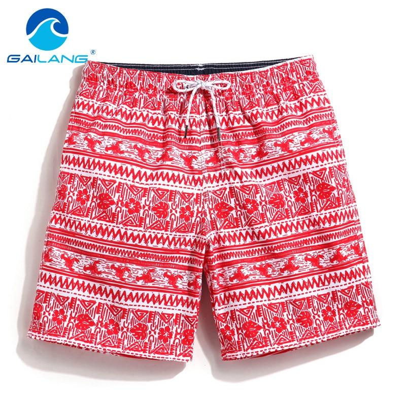 Gailang Brand Sexy Men's Beach Board Shorts Men Boxer Trunks Gay Bermuda Plus Size Quick Dry Shorts 2017 Swimsuits Swimwear