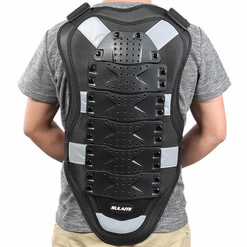 BIlinli Motocicleta Adulta Dirt Bike Body Armor Equipo de protecci/ón Pecho Protector de Espalda Chaleco de protecci/ón para Motocross Esqu/í Patinaje Snowboard