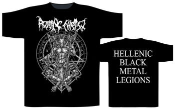 Rotting Christ 'Hellenic Black Metal Legions' T-Shirt - NEW & OFFICIAL!