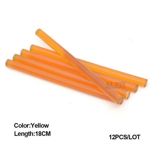 Keratin Glue Stick 18cm Colored Hot Melt Glue Sticks Italy Keratin