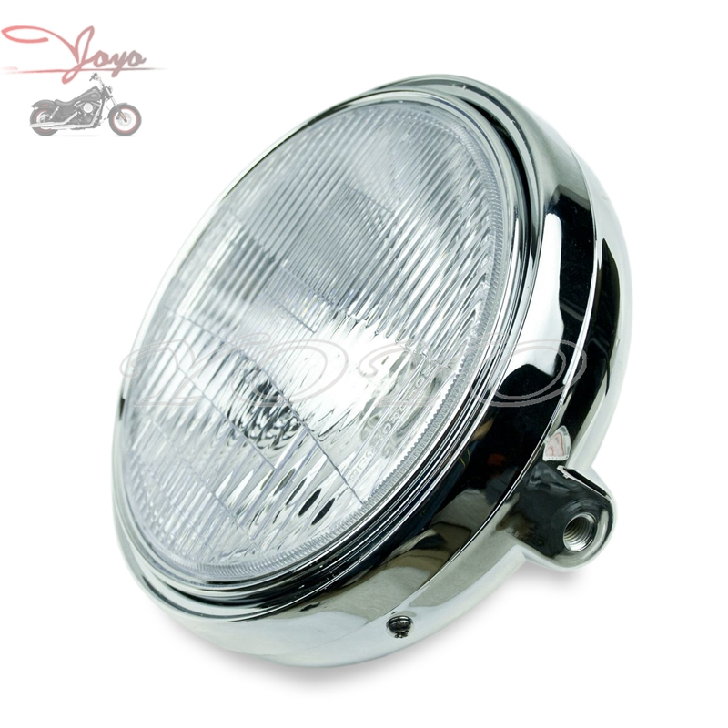 Free Shipping Motorcycle Plastic Plating Headlight Head Light Lighting For CB250 Hornet CB400 1992-1998