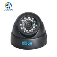 JOOAN 1/3 Kleur CMOS 700TVL Dome MINI CCTV Camera HD Indoor zwart 24 IR Leds Dag Nacht Security Home Video Surveillance Camera