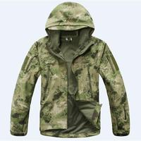 Hohe Qualität Camping Jacken Softshell Hot TAD V 4,0 Winddicht Männer Freienjagd-kampierende Wasserdichte Jacke Armee Outdoor Mantel