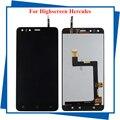 Para Highscreen Display LCD + montagem da tela de Toque Para Hércules Hercules smartphone Original Qualidade