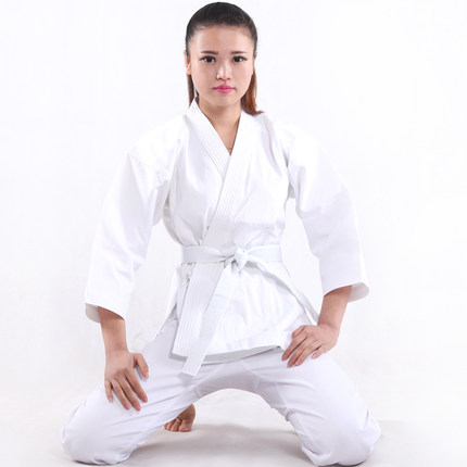 High Quality Karate Uniform Training Suit Karate Performance Clothing Children And Adult White Karate Dobok deha