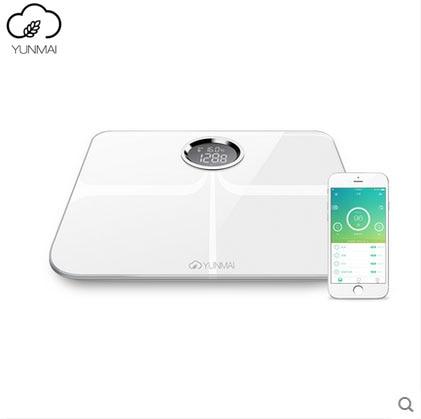 2016 newest White Black Premium Yunmai Smart Scale Original Weight Digital Bathroom Bluetooth APP Electronic Body Fat Scales