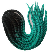 3Packs 22Inch Esprit Beauty Havana BouncyTwist Crochet Braids 120G Low Temperature Fiber Synthetic Jumbo Braiding Hair