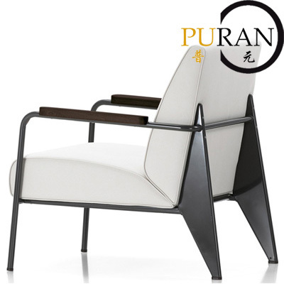 Fauteuils Modern Design.Jean Prouve Fauteuil De Salon Sofa Modern Design Sofa High
