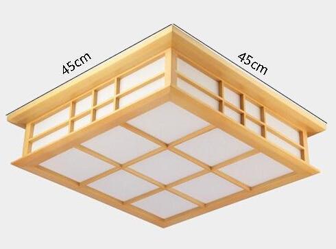 35X35cm moderne japonske stropne luči Washitsu Tatami dekor svetilka - Notranja razsvetljava - Fotografija 2