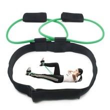 Sieviešu Booty Butt Resistance Band pedāļu trenažieris Fitness Belt Build Lift Glutes un apakšējā ķermeņa muskuļu forma 20-40 £