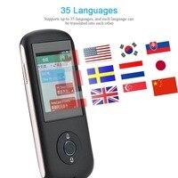 35 языках Bluetooth, Wi-Fi Голос переводчик HIFI Запись Портативный умный переводчик путешествия Traductor sim-карты для России