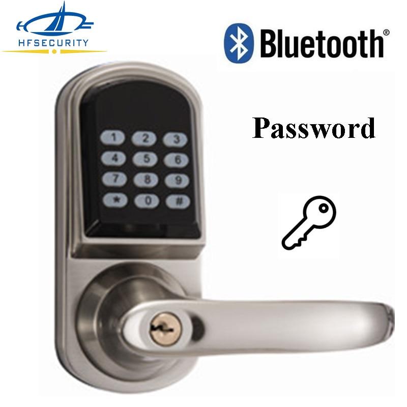 [HFSECURITY Lock] Home Security Password Door Lock Smartphone Bluetooth Lock Door Combination Code Smart Entry Keyless Locks-in Electric Lock from Security ...  sc 1 st  AliExpress.com & HFSECURITY Lock] Home Security Password Door Lock Smartphone ... pezcame.com
