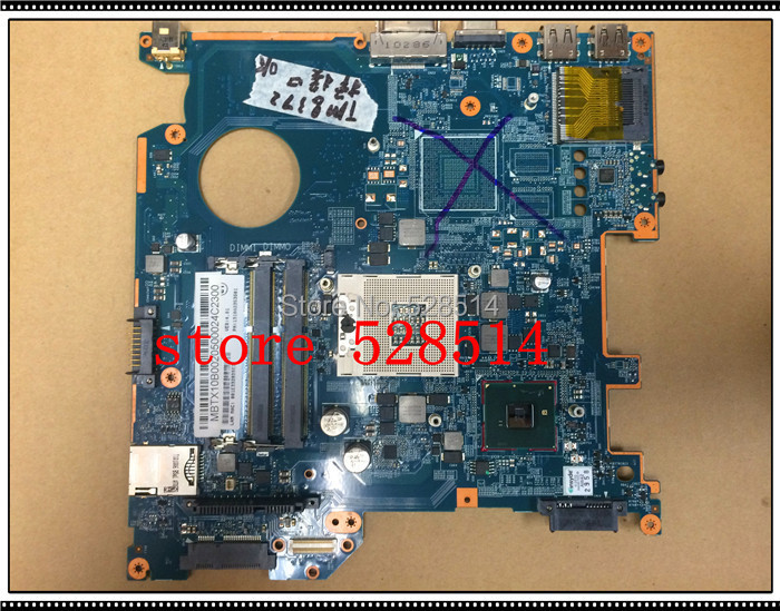 original MBTX10B002 6050A2341701 Laptop motherboard for Acer TM 8372 Motherboard Integrated 100% Test ok tm8372 8372 integrated motherboard for acer laptop tm8372 8372 mbv060b001 6050a2341701