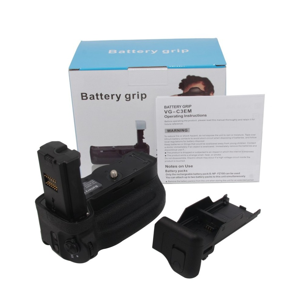 Multifunctional Battery Holder VGC3EM Battery Grip For Sony A9 A7RIII a7iii a7r3 Hold NP-FZ100 Battery Vertical-shootingMultifunctional Battery Holder VGC3EM Battery Grip For Sony A9 A7RIII a7iii a7r3 Hold NP-FZ100 Battery Vertical-shooting