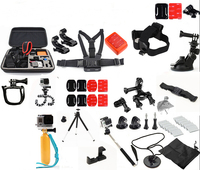 For GoPro accessories Family Kit GoPro accessories set GoPro accessories package for GoPro HD Hero 7 6 5 4 3+ 3 2 Free Shipping