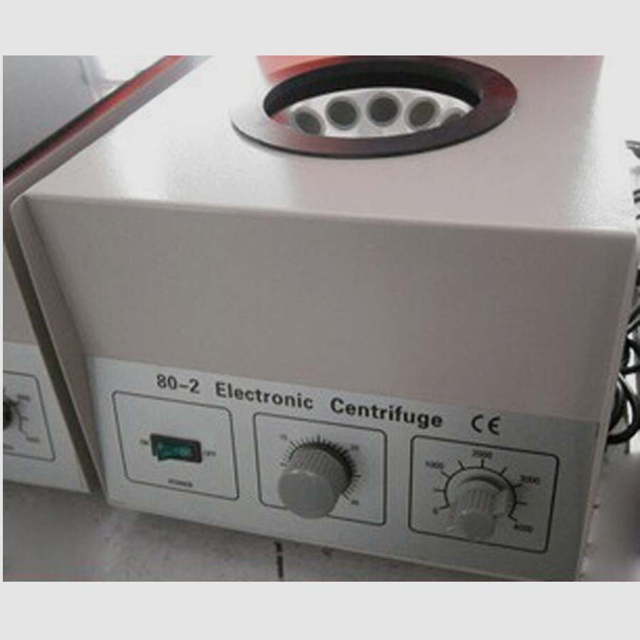 80-2 Electric 90W Electric Centrifugal Machine Electric Centrifuge Lab 4000 Rpm Electric Centrifuge electric lab centrifuge laboratory medical practice supplies 4000 rpm 20 ml x 6 1790 g