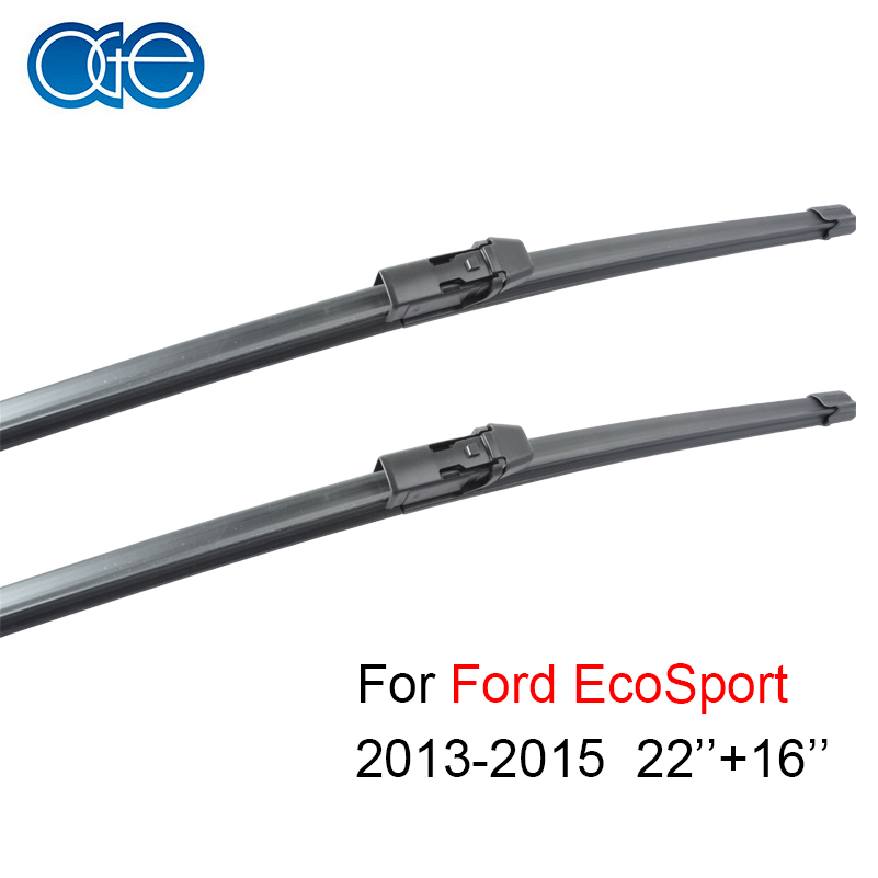 Oge 22''+16'' Wiper Blade For Ford EcoSport 2013 2014 2015 Natural Rubber Car Auto Accessories цена