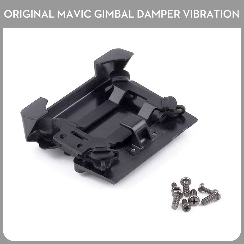Original DJI Mavic Pro Parts Damper Vibration Accessories Drone Gimbal Damping Board Part Shock Bracket Hanging Plate Panel
