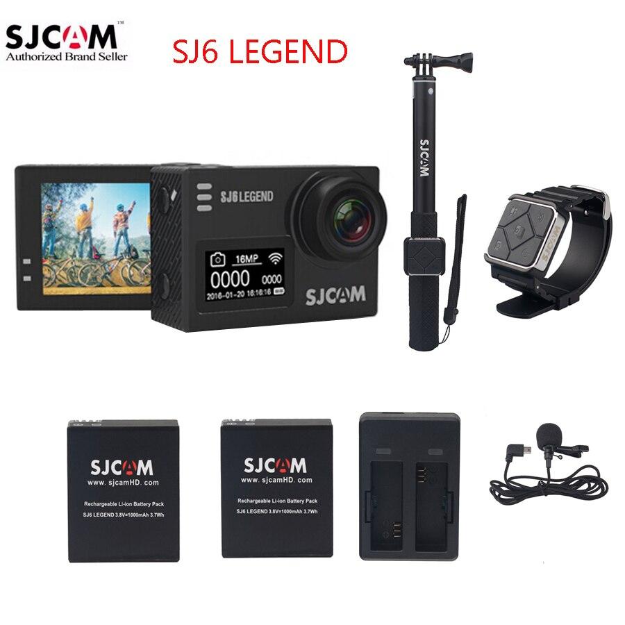 Original SJCAM Sj6 Legend Wifi Notavek 96660 4K 16 MP 2 0 Touch Screen 30M Waterproof