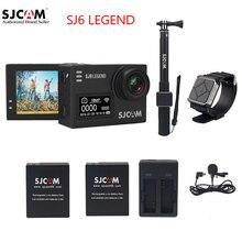 """Оригинальный SJCAM Sj6 Легенда Wi-Fi notavek 96660 4 К 16 МП 2.0 """"сенсорный экран 30 м водонепроницаемый Дайвинг удаленного Спортивные экшн-камеры SJ DVR"""