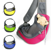 Pet Cat Dog Carriers Puppy Small Animal Dog Treat Bags Pet Backpack Front Carrier Mesh Comfort Single Shoulder Bag Supplies 05