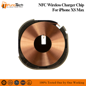 New Wireless Charging Chip Coil For iPhone xs max NFC Charge Panel Chip Flex Cable Replacement Parts