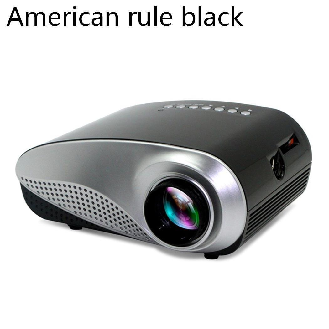 Mini 802 LED Home Use 1080P Portable Entertainment Miniature ProjectorMini 802 LED Home Use 1080P Portable Entertainment Miniature Projector