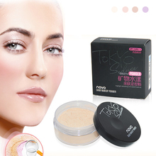 Brand New 4 Colors Smooth Loose Powder Makeup Transparent Finishing Powder Waterproof Cosmetic Face Finish Setting