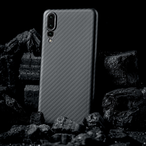 Image 2 - פחמן סיבי מקרה עבור Huawei P20 P20 פרו מקרה מט כיסוי עבור Huawei P30 P40 Mate 20 Mate פרו 30 30 פרו מקרה Ultra דק כיסוי