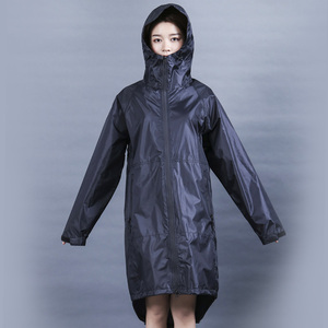 Image 3 - Długa, cienka płaszcz przeciwdeszczowy kobiety mężczyźni wodoodporny kaptur plecak płaszcz przeciwdeszczowy Ponchos kurtki płaszcz kobieta Chubasqueros Big Size