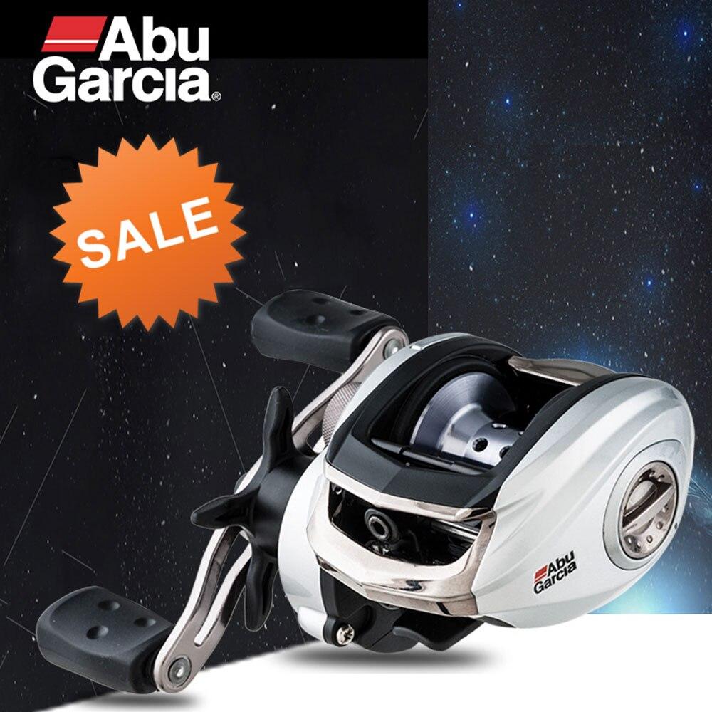 NEW 2017 Abu Garcia Model Gray Max3 SMAX3 Right Left Hand Bait Casting Fishing Reel 6.4:1 207g Max Drag 8kg Baitcasting Reel