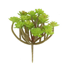 24 fork fairy tree fake flower artificial indoor plant wall micro landscape fleshy high quality China simulation