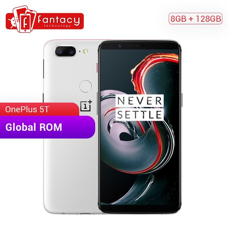 OnePlus 5 T 8GB 128GB ROM 18:9 Pantalla Completa Snapdragon 835 Smartphone 6,01