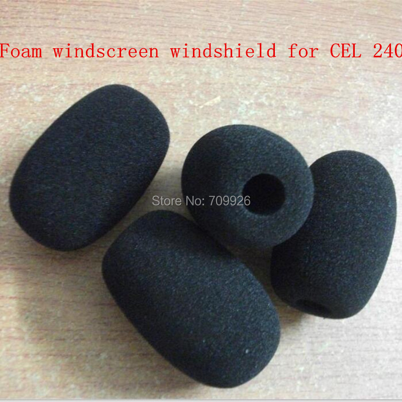 bilder für Linhuipad Großhandel Noise überwachung schaum windscreens schwamm windschutzscheiben für CEL 240 100 teile/los