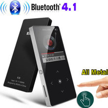 Bluetooth mp3 player Touch Screen BENJIE K8 Ultra thin 8GB/16GB Music Player 1.8 Inch Color Screen Lossless HiFi Sound with FM(China)