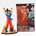 1Pcs Anime Dragon Ball Z Figuarts Zero Son Goku Spirit Bomb Ver PVC Action Figure Toy 16cm Free Shipping