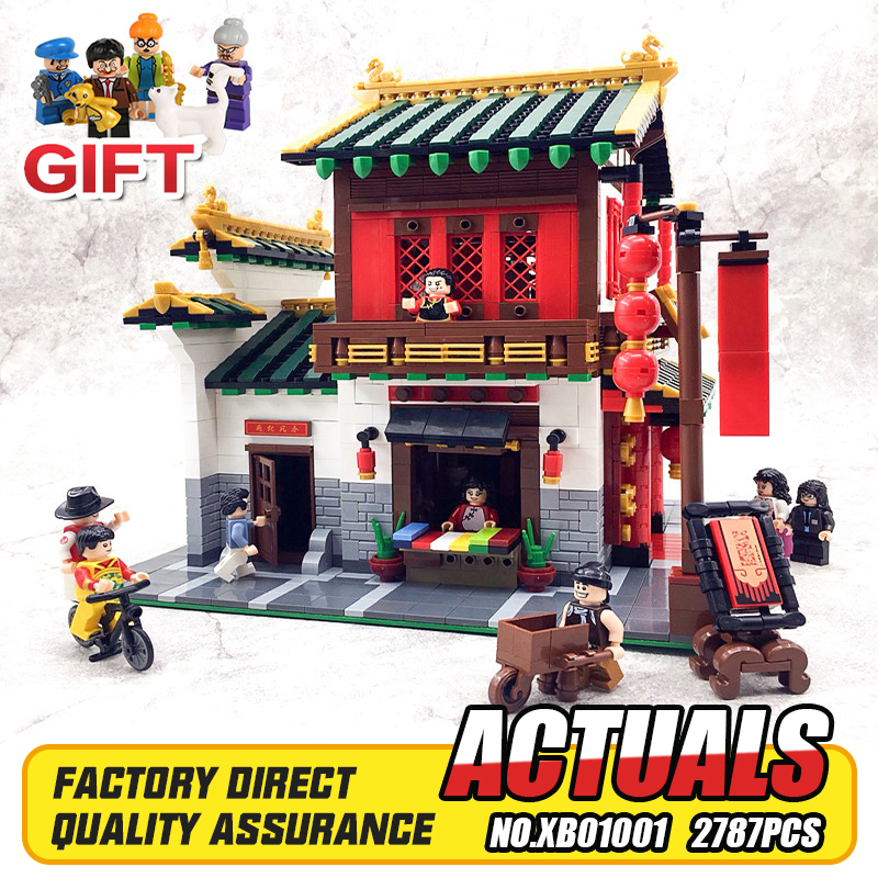 Online Get Cheap Building Block Mode -Aliexpress.com | Alibaba GroupNEW XingBao 01001 Block 2787Pcs Creative Chinese Style The Chinese Silk and  Satin Store Set Building Blocks Bricks Toys Mode