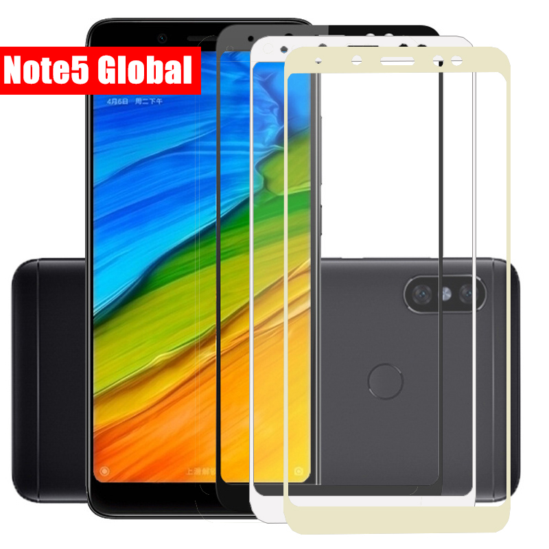 Full Protective Glas For Xiaomi Redmi Note 5 Tempered Glass On The Ksiomi Redmi 5 Plus Note 5 Pro 5A Prime Screen Protector Film