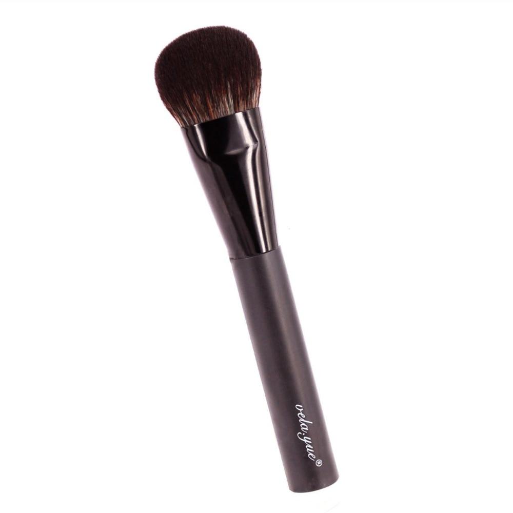 vela.yue Cheek Finish Brush Face Blush Highlighter Contour Blending - Smink - Foto 6