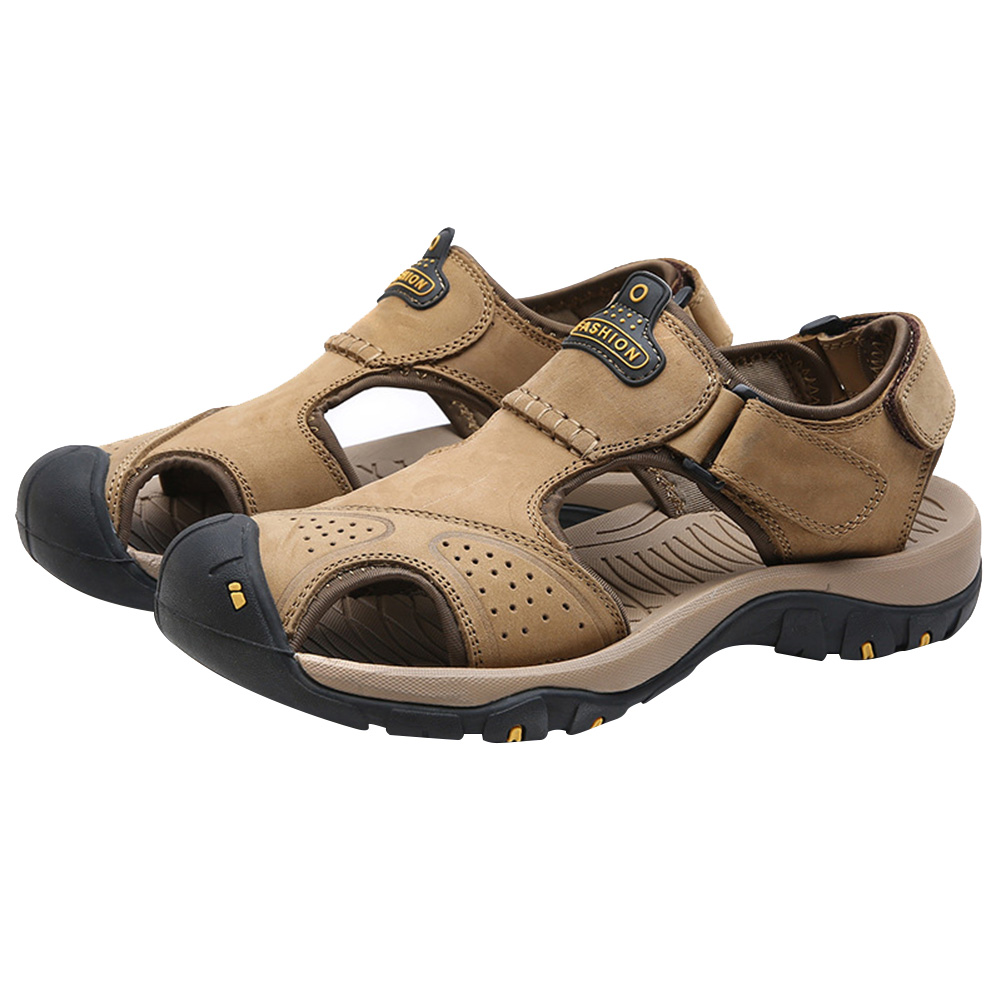 2019 New Men's Sandals Beach Shoes Closed Toe Breathable Anti-slip Casual For Summer Hiking BS88