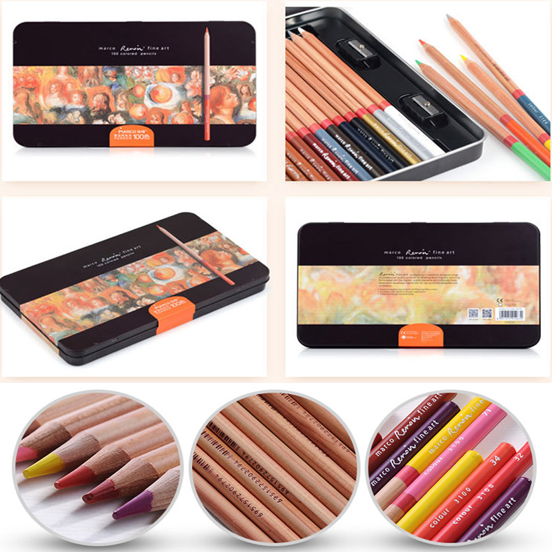 colored Pencils Wood Coloring Artist Oil Color Pencil for Kid School Graffiti painting Art Supplies drawing Pencil Set cute lovely color pencil drawing tutorial art book