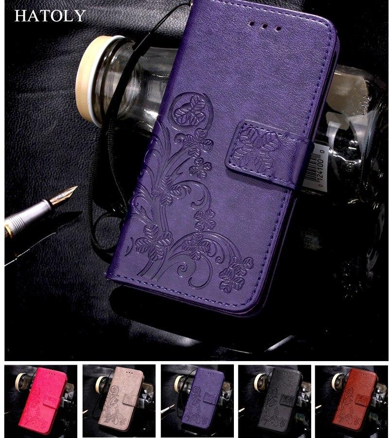 Caso de Telefone VIVO HATOLY Y53 Tampa Flip PU Leather & TPU Caso BBK vivo Caso Coldre Para VIVO Y53 Y53 slot Para cartão Fundas 5.0